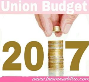 Union Budget India 2017