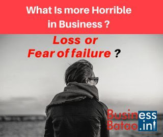 Fear of Failure in Business